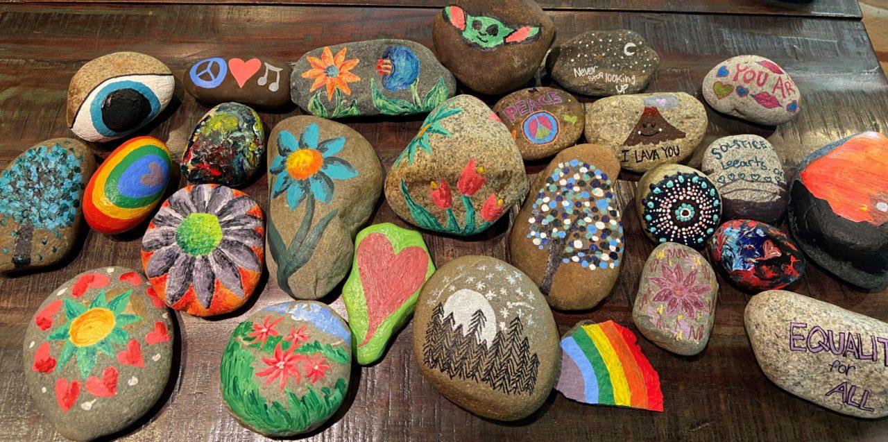 LAF Rock Painting
